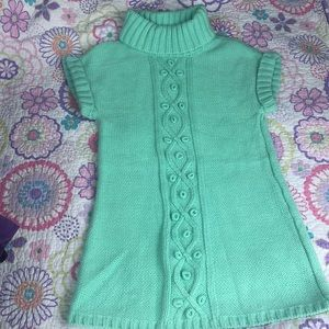 Girls sweater tunic.